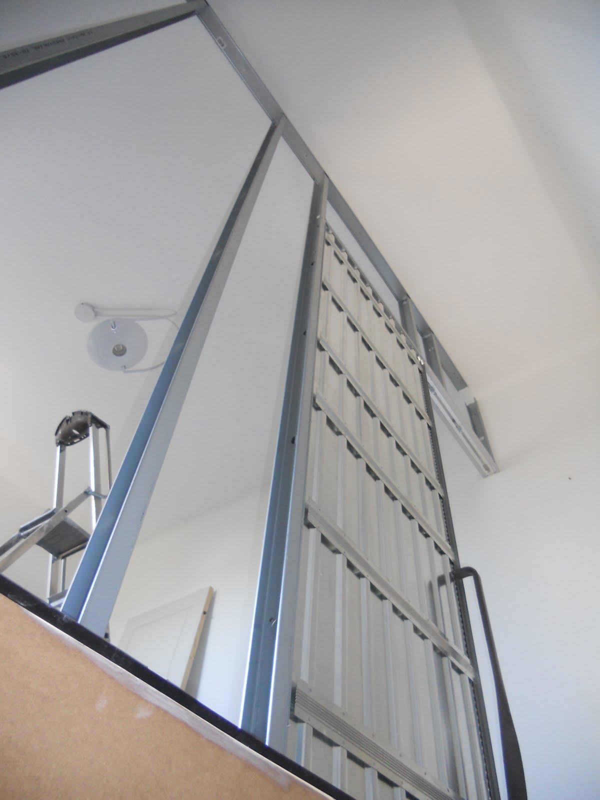 pose d une porte a galandage id es de conception sont int ressants votre d cor. Black Bedroom Furniture Sets. Home Design Ideas