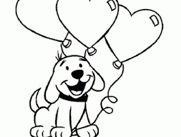 Coloring Pages Of Puppy Love