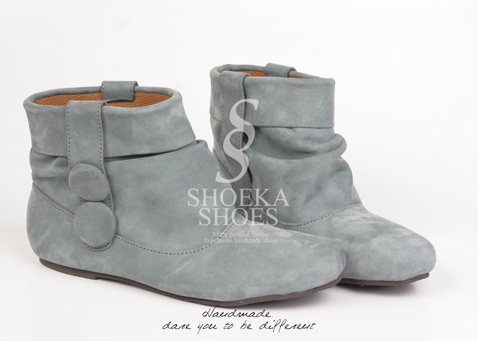 Sepatu Boots Wanita Korea
