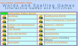 WORDS AND SPELLING GAMES