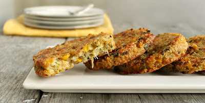Corn, Zucchini and Quinoa Cakes