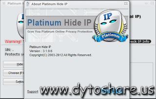 Where do I find the crack, serial, cd-key or keygen for Platinum Hide IP 3