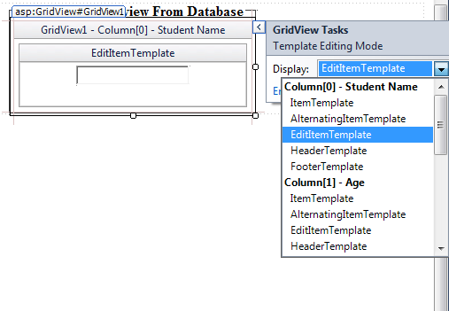 ASP.NET: Use Template field to display data in Gridview in asp.net ...