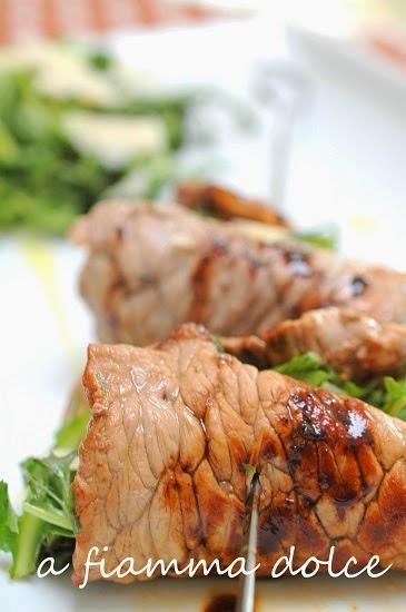 involtini di carne al tarassaco