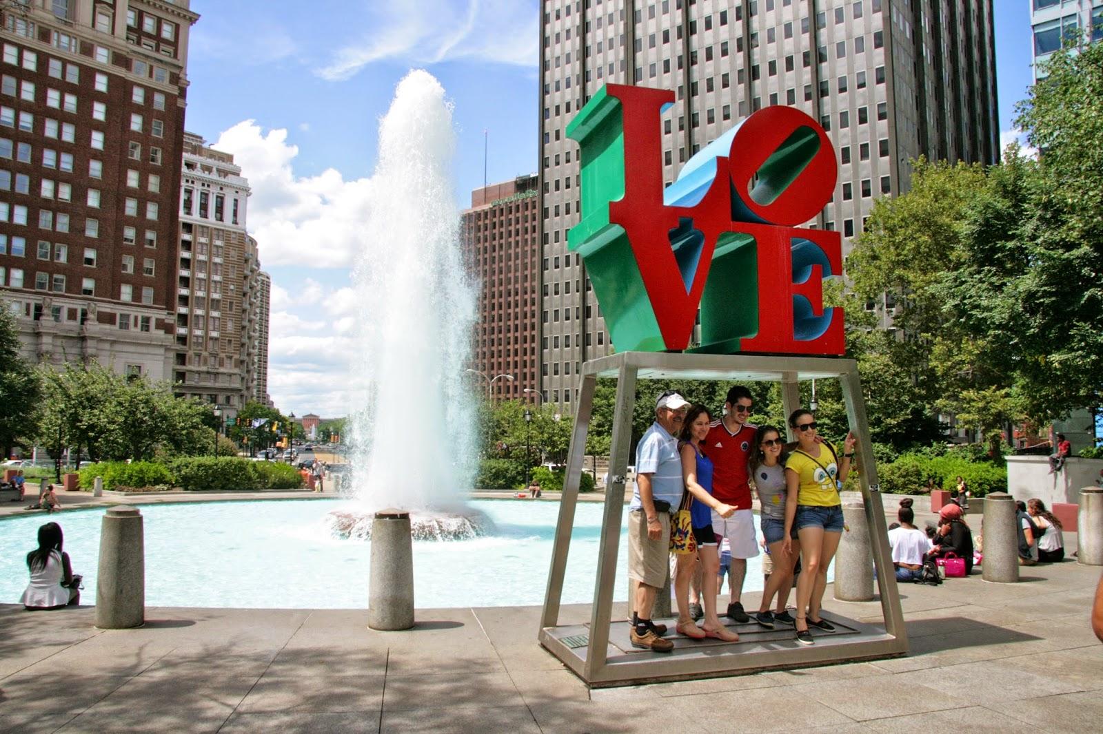 Love Park Philadelphia