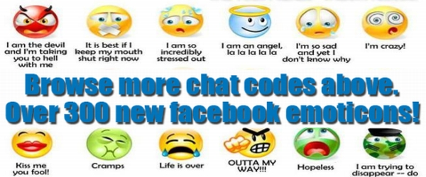 Fb Symbols Chat Emoticons Text Art Copy Paste Fun Your Post My Blog