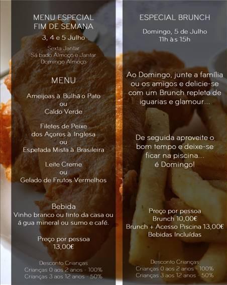 Saboreie o próximo final de semana no Restaurante Aroma no Graciosa Resort, com as nossas deliciosa