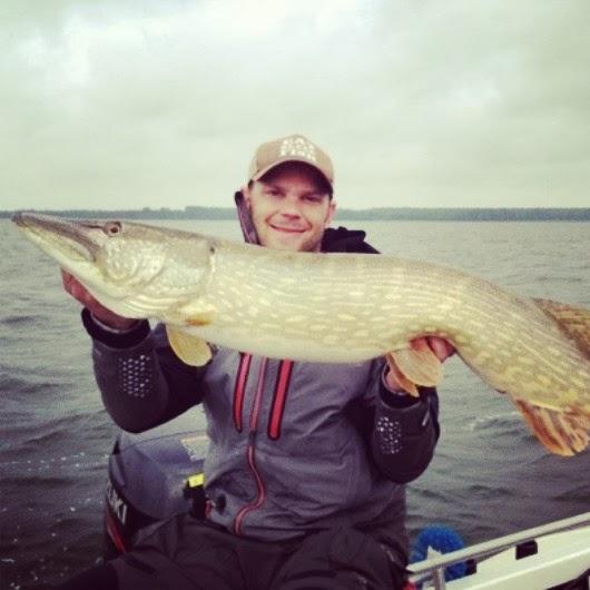 Gäddfiske på Rugen