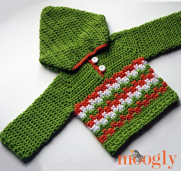 http://www.mooglyblog.com/leaping-crochet-baby-hoodie/