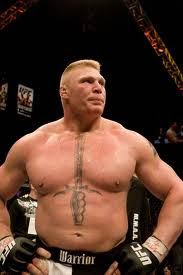 ufc mma fighter brock lesnar picture image