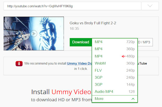 Cara download video Youtube V2.