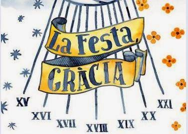 cartel fiestas de gracia 2014