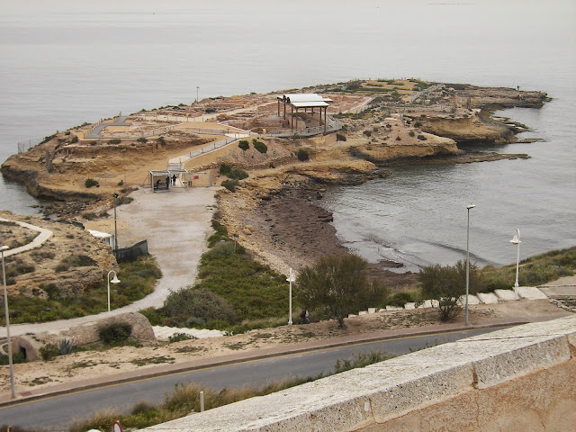 Els Banyets de la Reina yacimiento arqueológico El Campello Cristina Marco