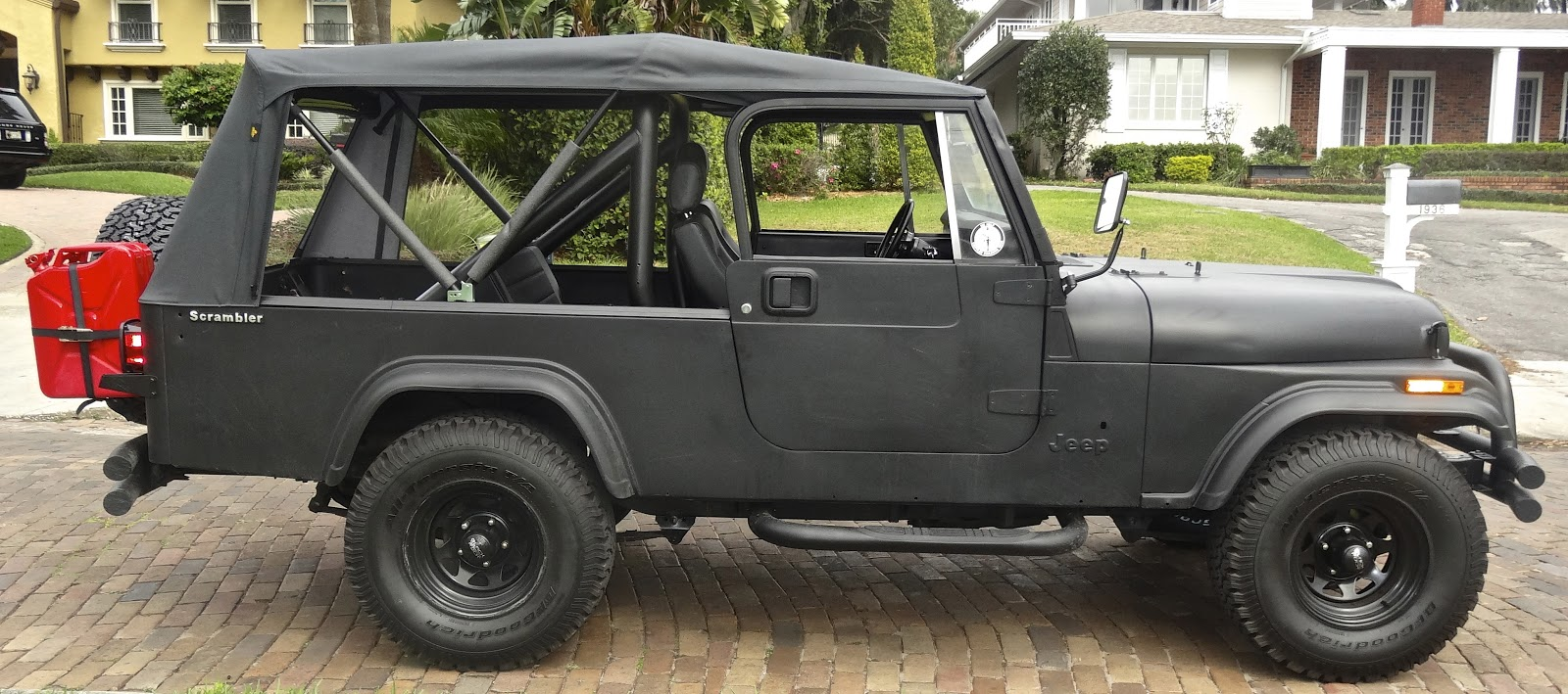 jeep lift before and after my 1981 jeep cj 8 scrambler build. Black Bedroom Furniture Sets. Home Design Ideas
