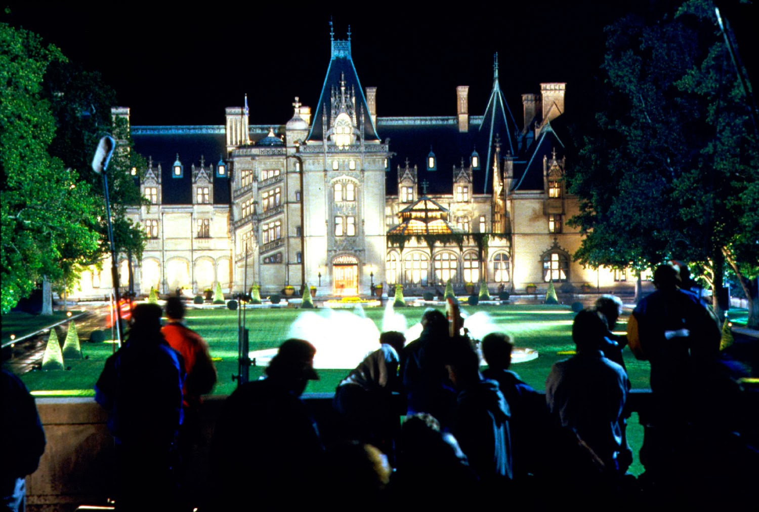 Shooting Richie Rich on site at Biltmore