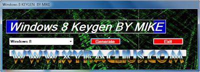 Windows 8 Serial + Keygen Full Activation