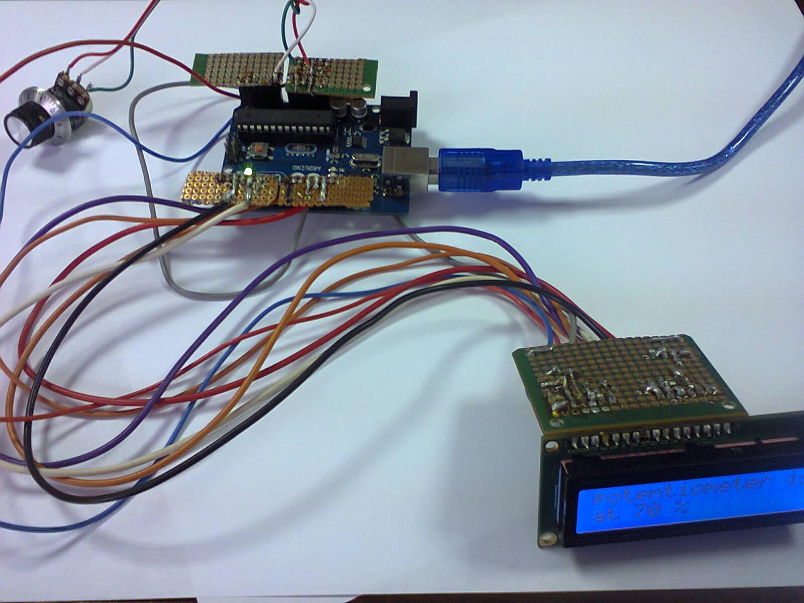 Nicu Florica Niq Ro Arduino Si O Intrare Analogica Afisare Pe Lcd Circuit Pic16f628 Rf Remote Buton 433mhz Button Valorile Citite La Sunt Convertite In 1024 Trepte 2 Puterea 10 De 0 1023