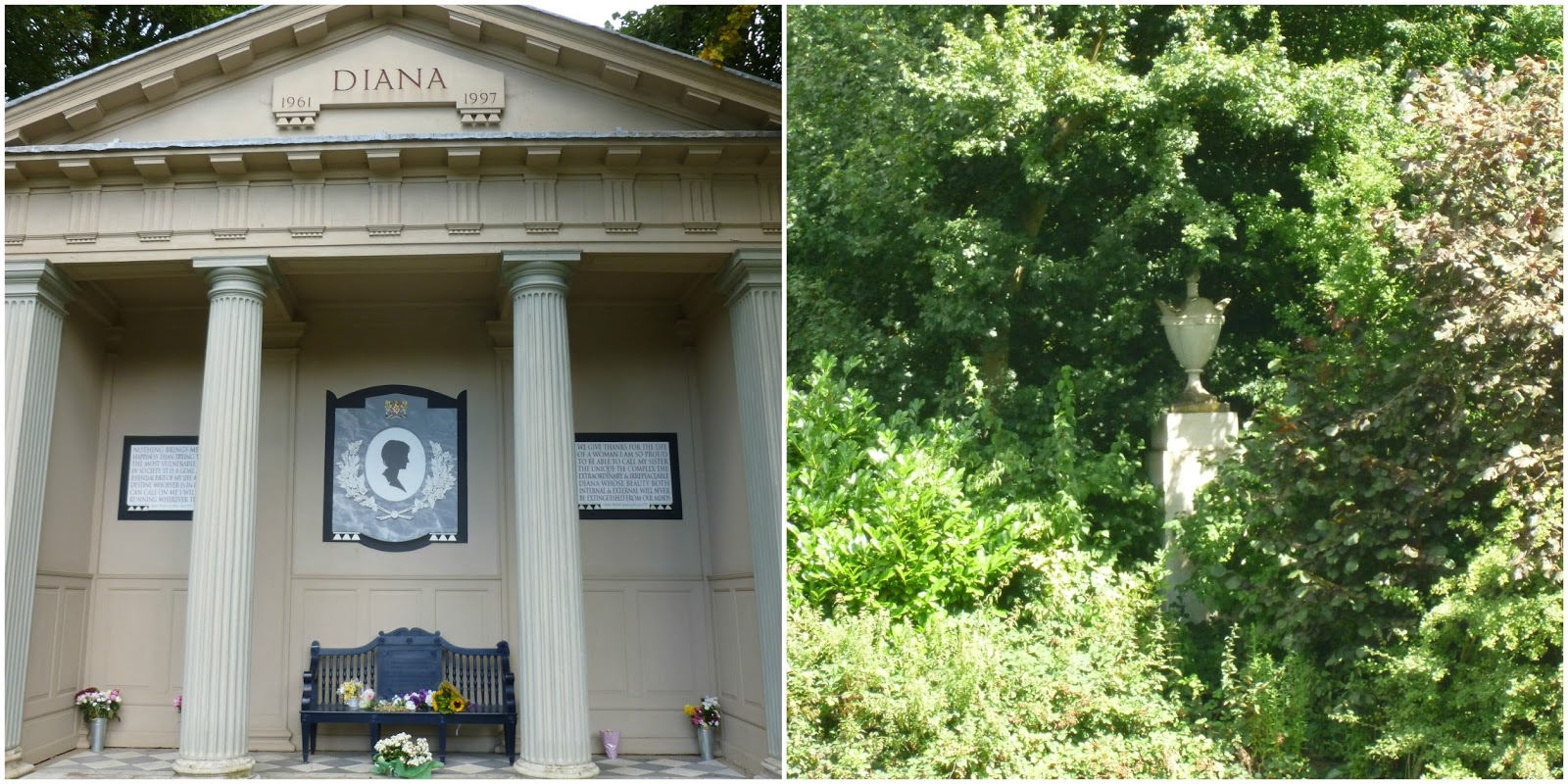 gallery for princess diana grave