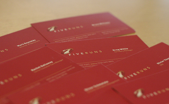 FiveRuns Business Card