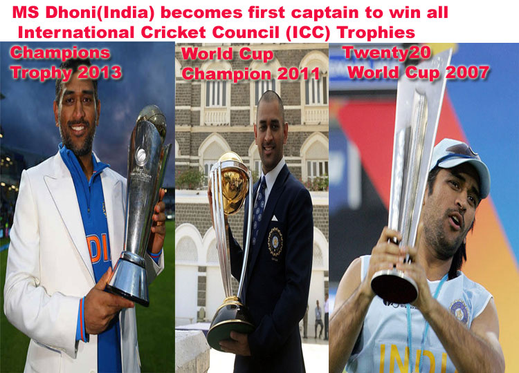 ... Singh Dhoni captain First place in the ICC Test rankings in 2009
