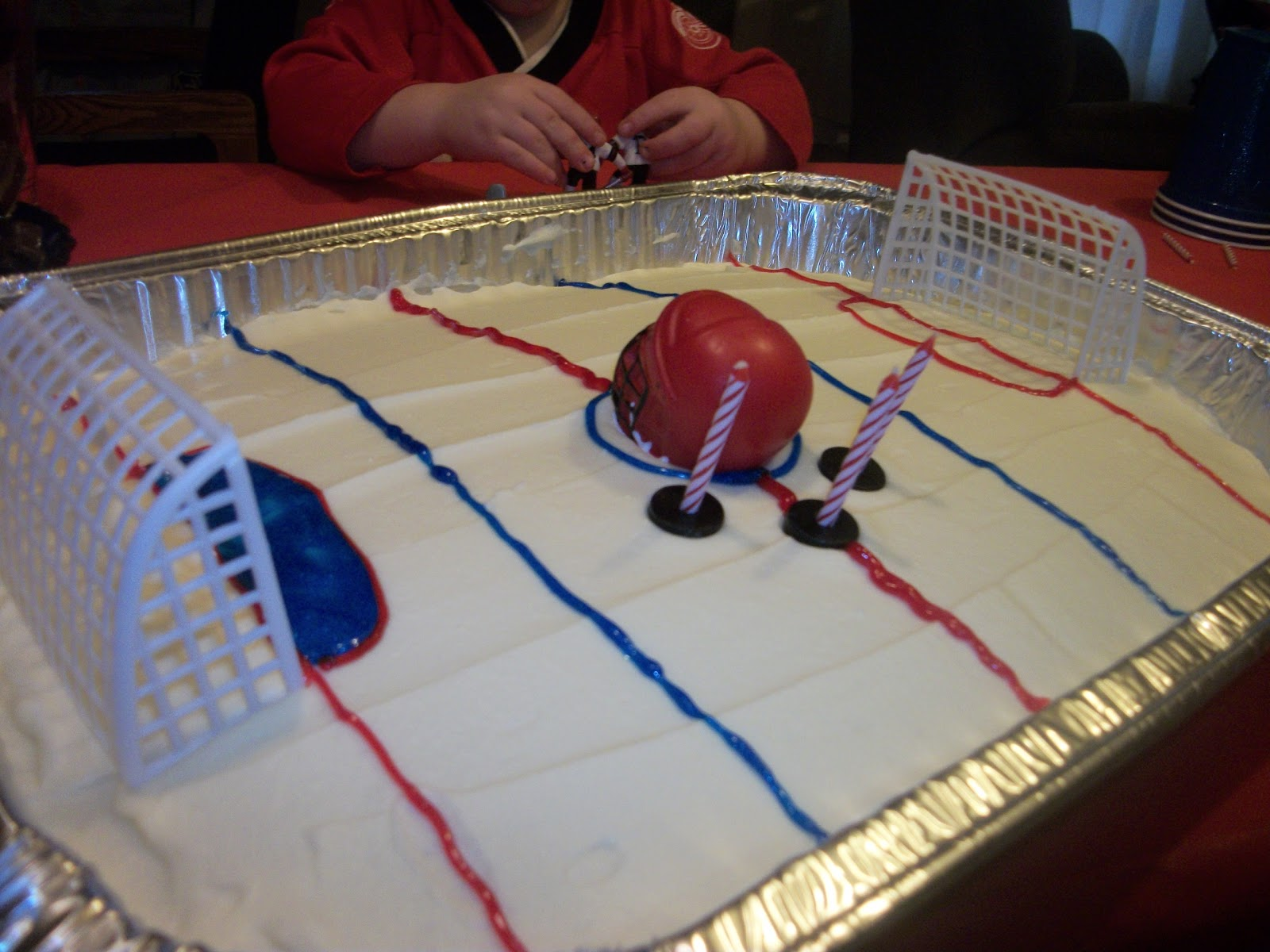 April S Country Life Two Hockey Cakes