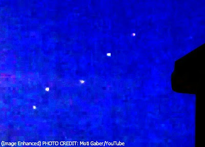 Five to Eight UFOs in Israel's Sky Wednesday Night