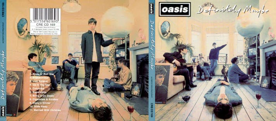 Michael's Music Video Blog: Analysing an Album Cover ... Oasis Band Album Cover