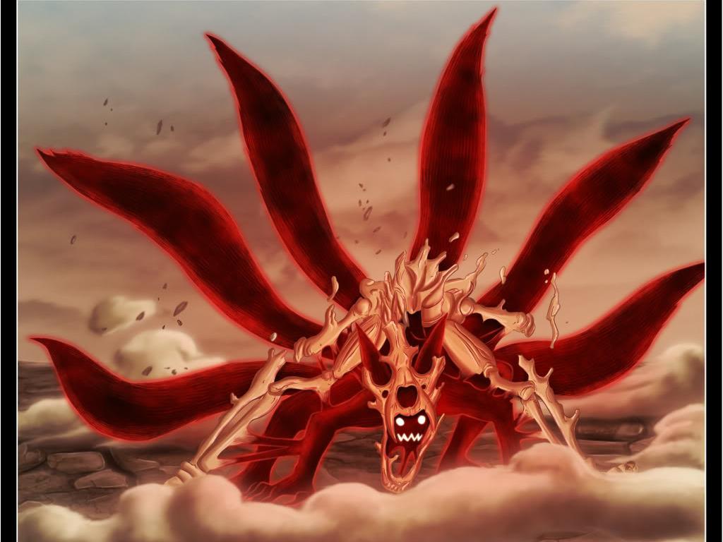 Great Wallpaper Naruto Fox - Kyuubi_Six_Tails_Wallpaper_yzos  Image_182221.jpg