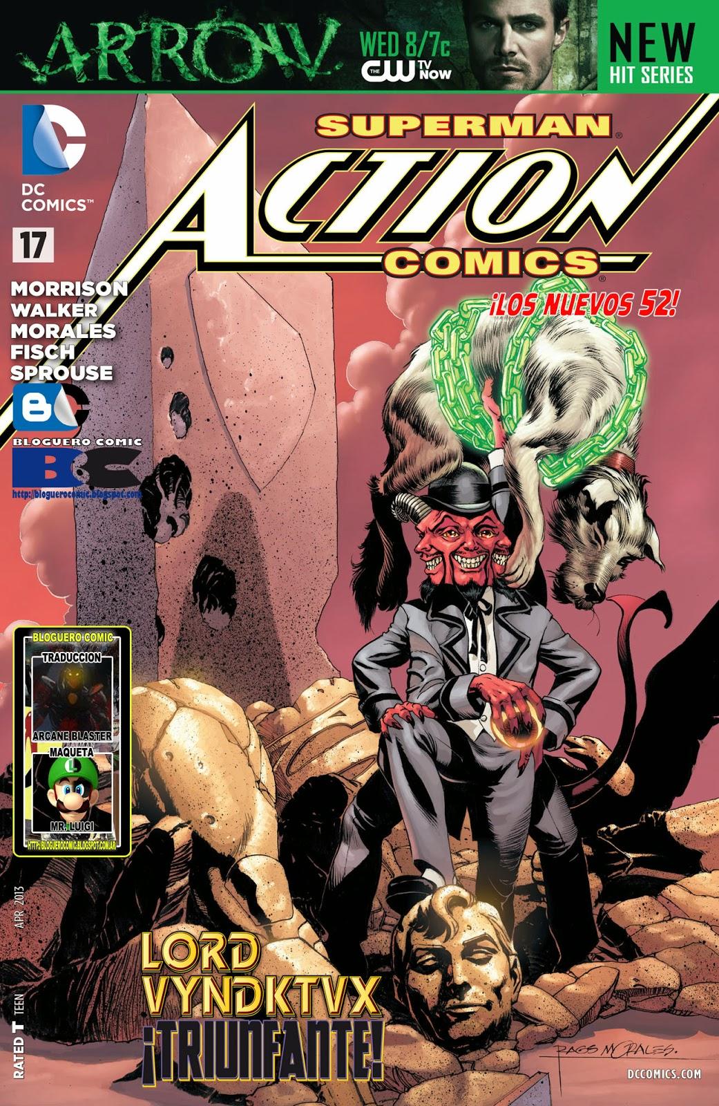 http://www.mediafire.com/download/3jcktm1r56m2nq6/Action+Comics+17+%28Bloguero+Arcane+Blaster+-+Mr.+Luigi%29.cbr
