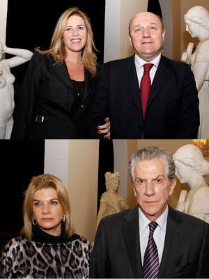 Iracema e Renzo REgini / Sandra e Samir Kalil