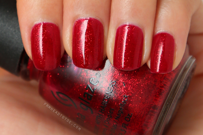 Manicure Monday China Glaze Ruby Pumps