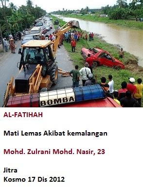 Lemas Akibat Kemalangan