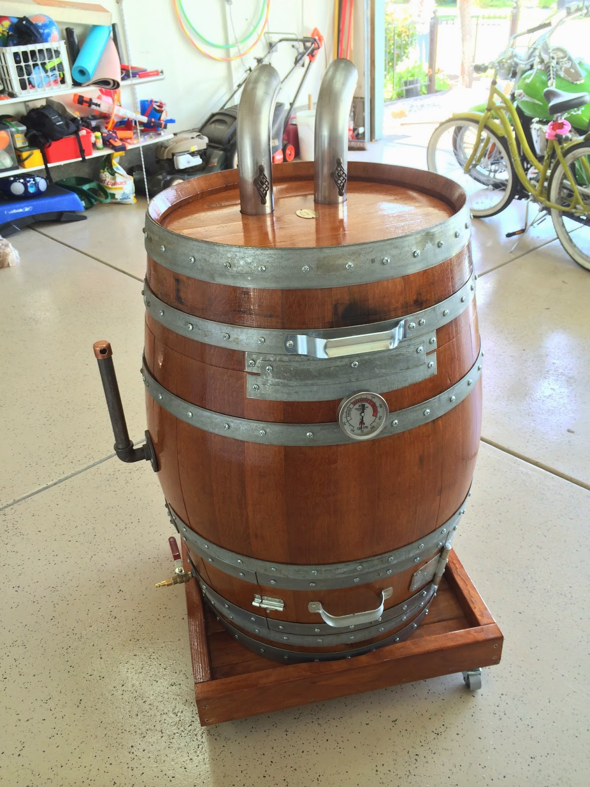 how to cook with a barrel smoker