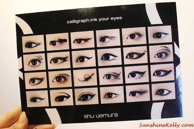 shu uemura, calligraph:ink liquid eye liner review, calligraph:ink, liquid eye liner review, shu uemura malaysia, shu pet, liquid eyeliner, makeup review, beauty review