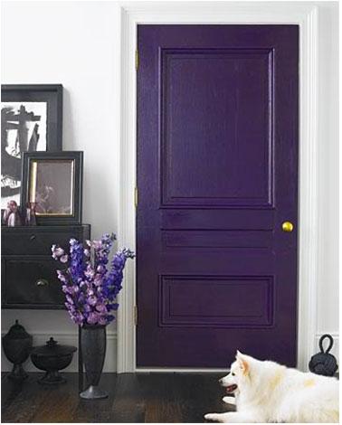 Pintar las puertas con colores brillantes casas decoracion - Pintar puertas interiores ...