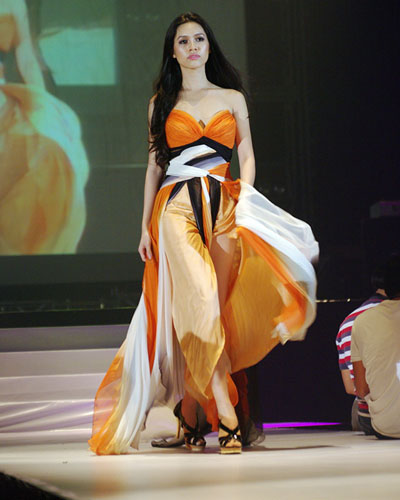 More new photos of Miss Universe Vietnam 2011 Vũ Thị Hoàng My