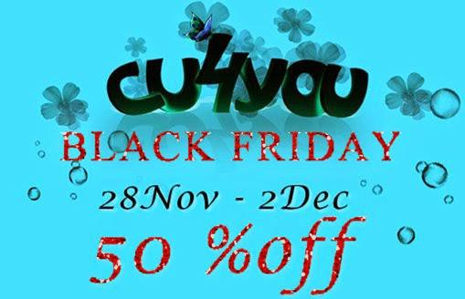 Black Friday CU sale