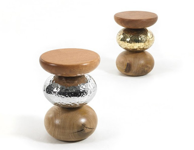 Cute Pebble Stool