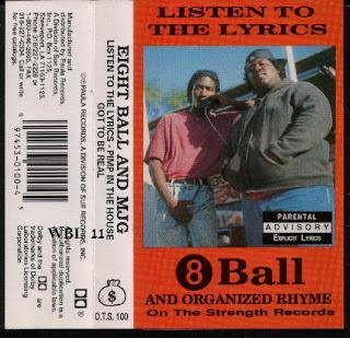 8 Ball & MJG – Listen To The Lyrics EP (Cassette) (1991) (320 kbps)
