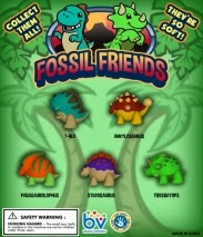 Fossil Friends Dinosaur Squishies Pencil Toppers