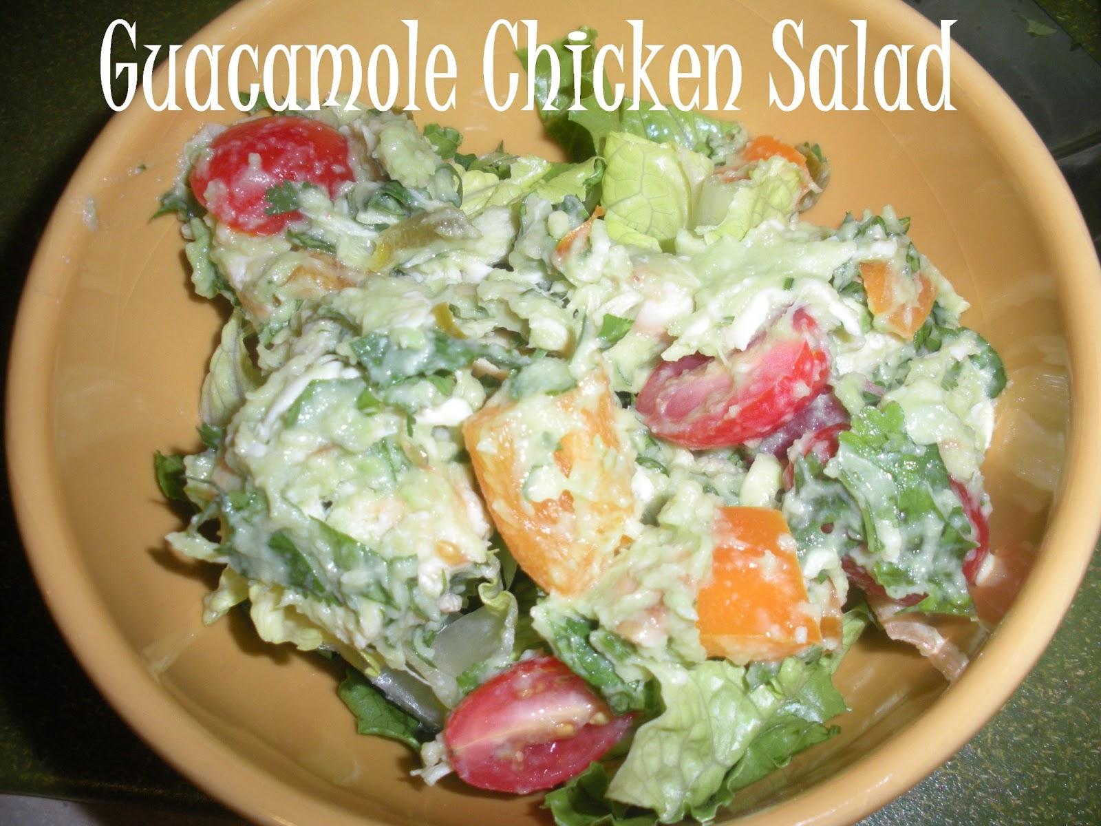 Domestic 360: My Whole 30 Journey - Guacamole Chicken Salad Recipe