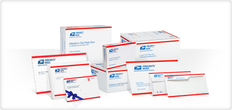 Your Postal Blog: Prepaid Forever Priority Mail Flat-Rate packaging