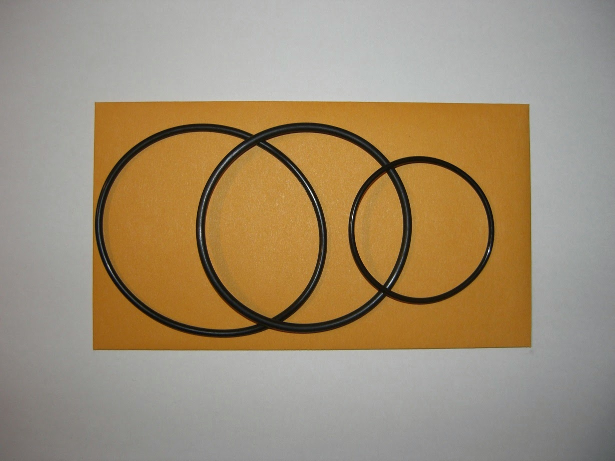 HONDA CA175 CB175 CL175 SL175 SLINGER OIL FILTER GASKET O-RING KIT (CB-FG005)