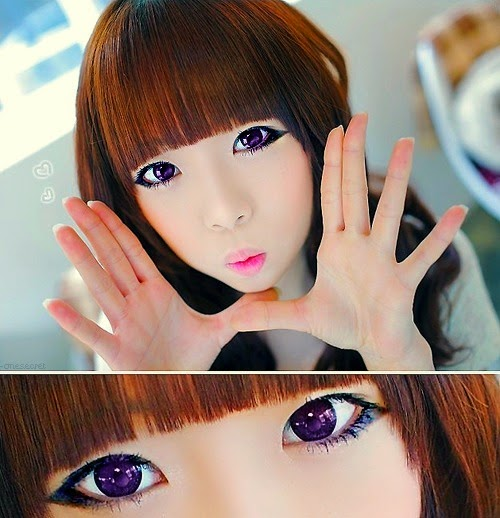 Korean Big Eye Circle Lenses: Korean Skin Care & Makeup ...