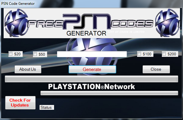 Playstation Generator