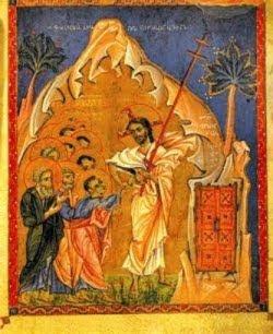 Incredulidad de Tomás. Manuscrito armenio (1267-1268)