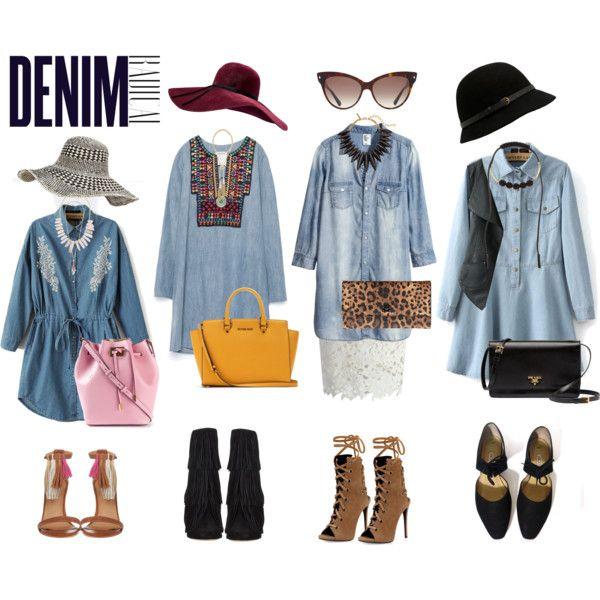 Denim Dresses Denim Trend Wishlist