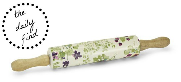 Laura Ashley Floral Rolling Pin