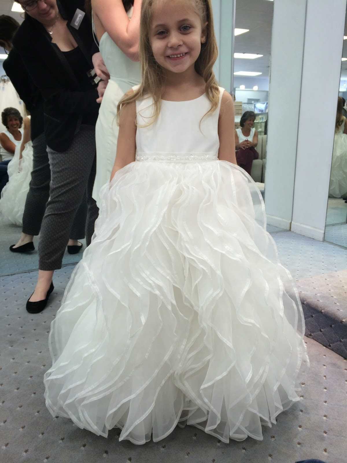Doeblerghini Bunch:  Flower Girl Dresses - Ruffle Bottom