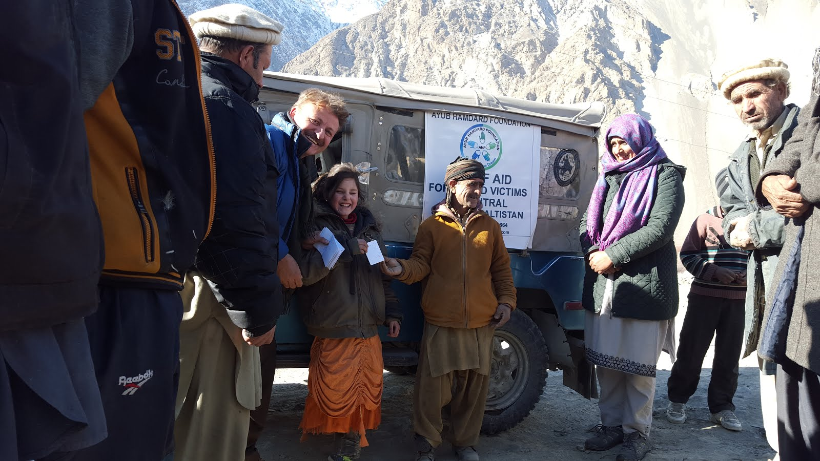 AHF RELIEF AT BREP YARKHUN UPPER CHITRAL